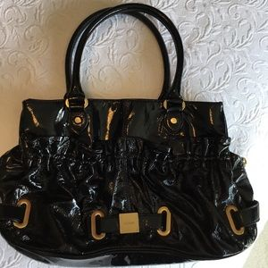 Botkier Black Patent Leather Bag